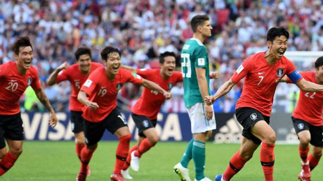 Korea Selatan taklukkan Jerman di Piala Dunia 2018.