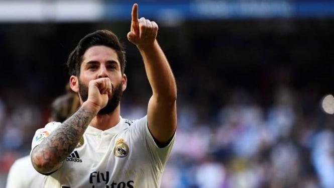 Gelandang Real Madrid, Isco Alarcon