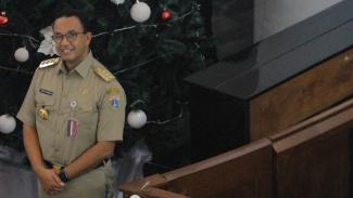 Anies Baswedan Tinjau Pengamanan dan Perayaan Natal 2019