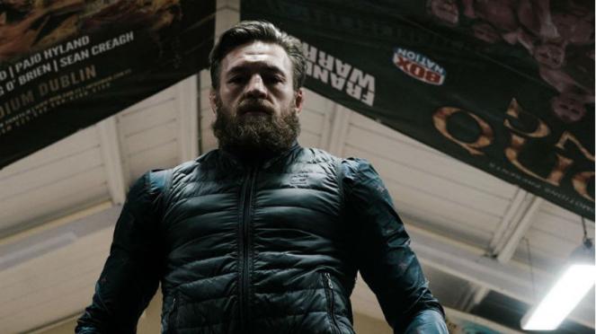 Megabintang UFC, Conor McGregor, dengan bentuk tubuh terbarunya