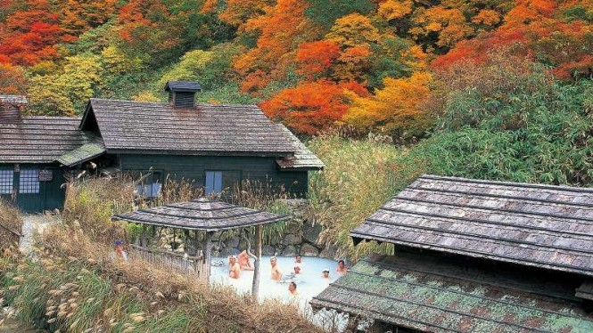 Nyuto Onsenkyo - Prefektur Akita