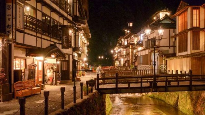 Ginzan Onsen - Prefektur Yamagata