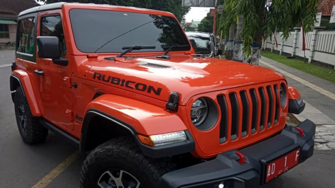 Jeep Wrangler Rubicon jadi mobil dinas Bupati Karanganyar
