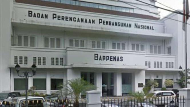 Gedung Kementerian PPN/Bappenas, di Jalan Taman Suropati No.2, Jakarta Pusat.