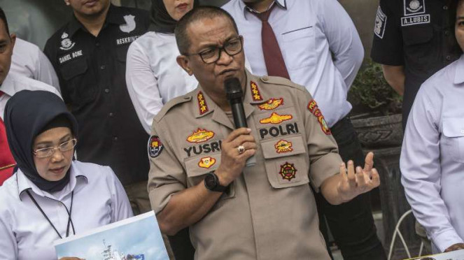 Kabid Humas Polda Metro Jaya Komisaris Besar Yusri Yunus.