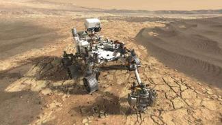 Robot Penjelajah Mars 2020.