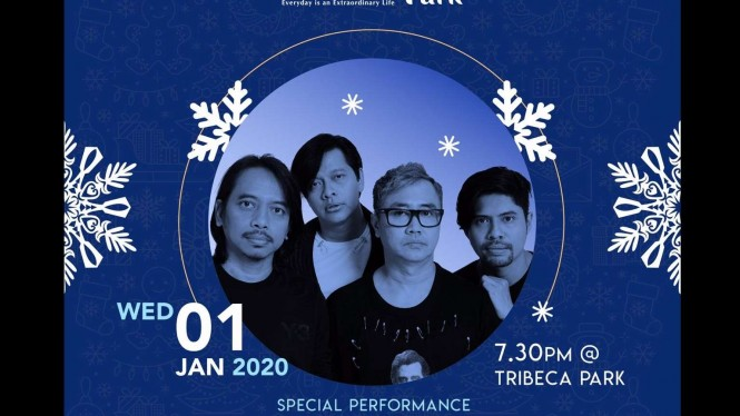 Special Performance oleh Gigi di Mall Central Park 01 Januari 2020.