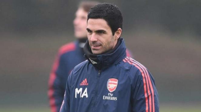 Manajer Arsenal, Mikel Arteta