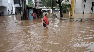 Banjir Jakarta.