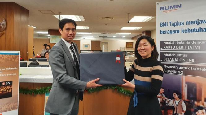 Pelayanan Kantor Cabang Luar Negeri BNI di Tahun Baru, BNI di Tokyo