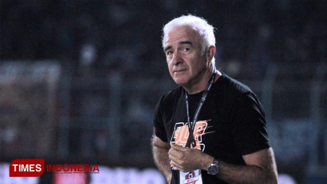 Mario Gomes. (FOTO: Tria Adha/TIMES Indonesia)