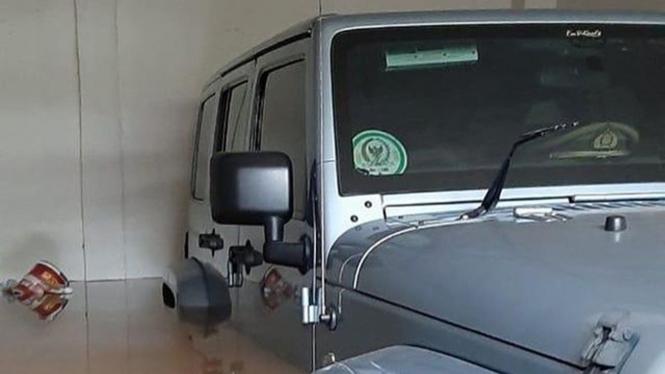 Jeep Rubicon milik Ketua MPR, Bambang Soesatyo