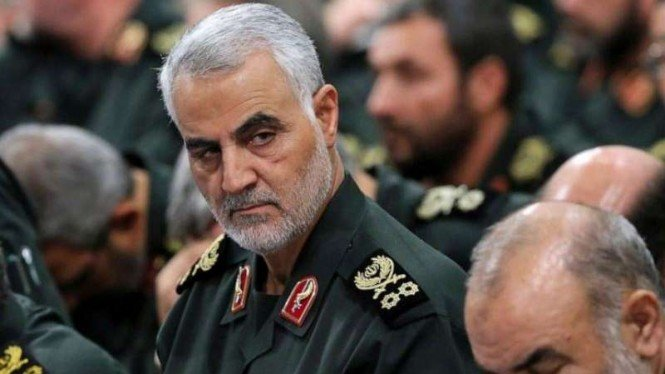 Komandan Pasukan Khusus Iran, Mayor Jenderal Qassem Soleimani.