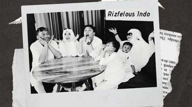 Potret keluarga Rizky Febian dan ibundanya