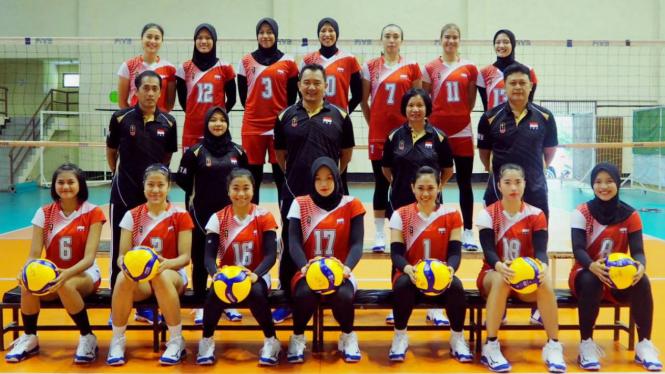 Tim Nasional Bola Voli Putri Indonesia