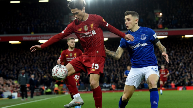 Pertandingan Liverpool vs Everton di Piala FA