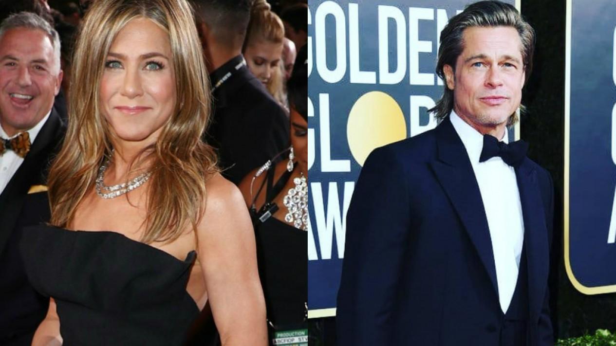 Jennifer Aniston dan Brad Pitt