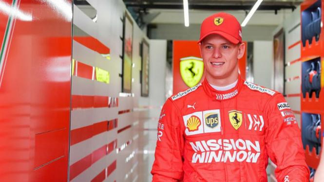 Anak Michael Schumacher, Mick Schumacher