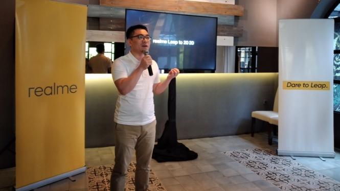 Direktur Pemasaran Realme Indonesia, Palson Yi.