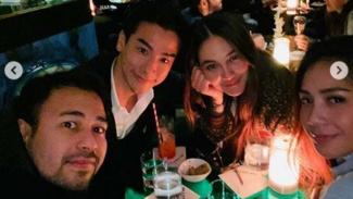 Raffi Ahmad, Ryochin, Luna Maya, Nagita Slavina