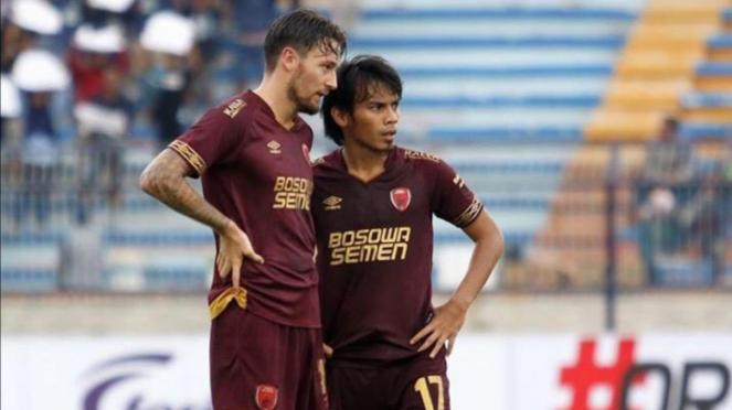 Pemain PSM Makassar, Marc Klok dan Rasyd Bakri