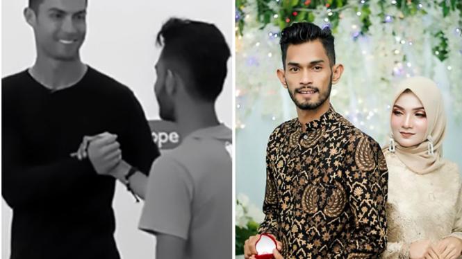 Anak angkat Cristiano Ronaldo asal Banda Aceh, Martunis siap melepas masa lajang