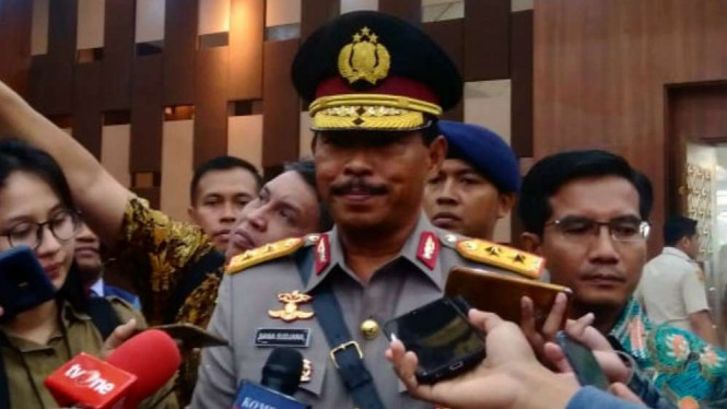 Inspektur Jenderal (Irjen) Polisi Nana Sudjana.
