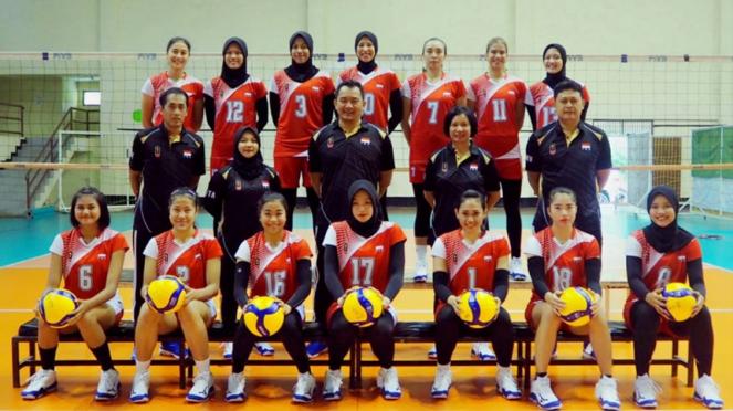 Timnas voli putri Indonesia di kualifikasi Olimpiade 2020