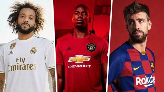 Parade nilai kontrak klub dengan apparel sepakbola tertinggi di dunia