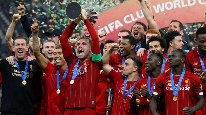 Jordan Henderson membawa Liverpool juara Piala Dunia Klub 2019