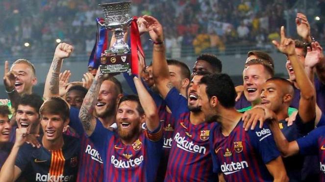 Barcelona juara Piala Super Spanyol 2018