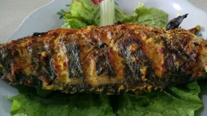 Ikan bakar nila pedas