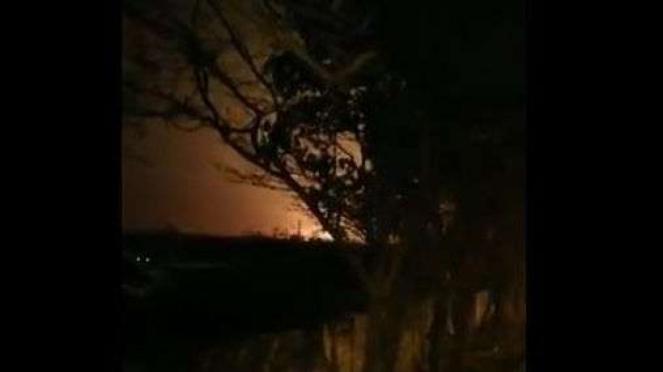 Rekaman video amatir jatuhnya pesawat Ukraina di Iran 8 Januari 2020