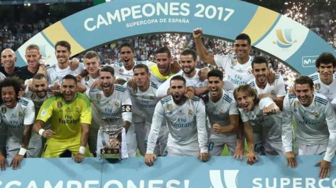 Real Madrid juara Piala Super Spanyol 2017