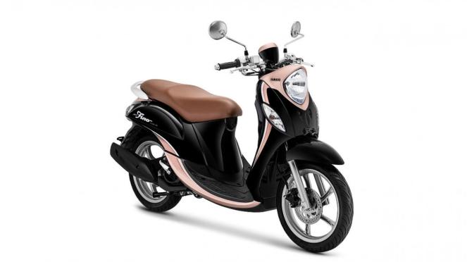 Yamaha Fino dengan pilihan warna baru