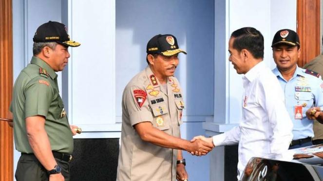 Presiden Joko Widodo (Jokowi) bertolak ke Natuna, Kepulauan Riau