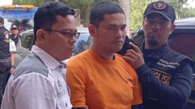 Pelaku pembunuh Hakim Jamaluddin.