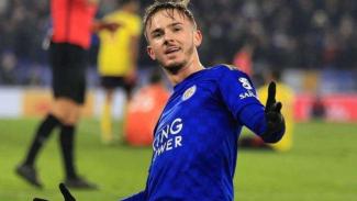 Gelandang serang Leicester City, James Maddison