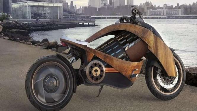 Sepeda motor bertenaga listrik Newron EV-1