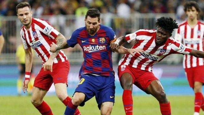 Semifinal Piala Super Spanyol antara Atletico Madrid kontra Barcelona