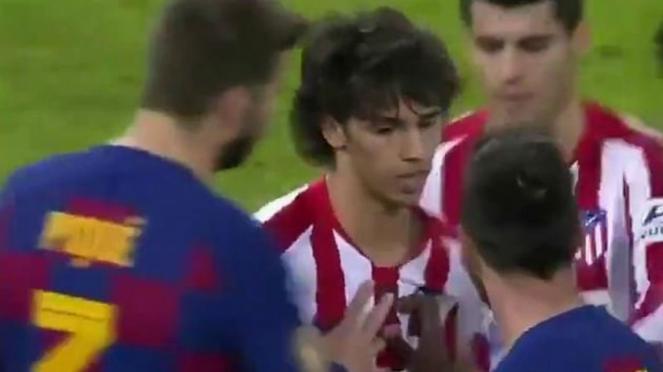 Keributan Joao Felix dengan Lionel Messi