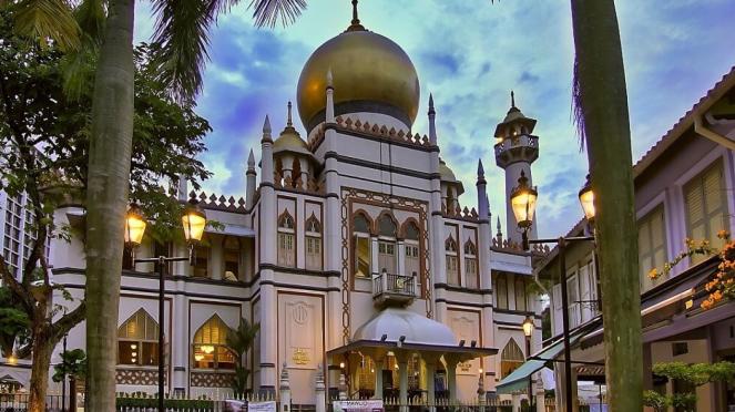 Deretan Masjid Mewah di Singapura