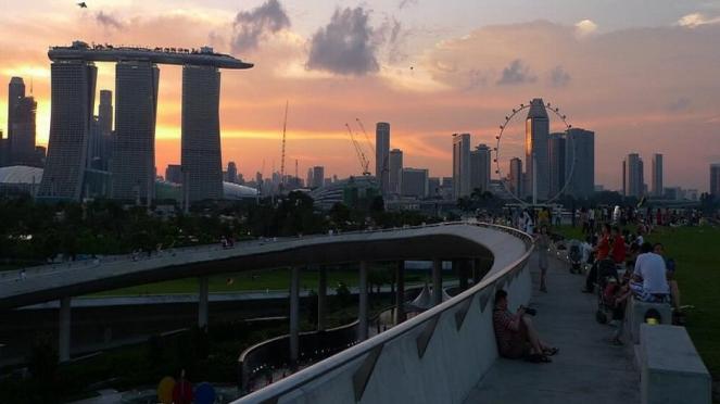 Singapura Saat Malam Hari, Keindahan yang Hakiki