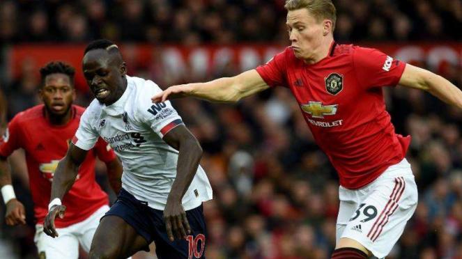 Laga Premier League 2019/2020 antara Manchester United kontra Liverpool