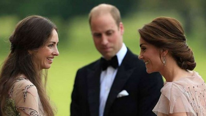 Rose Hanbury di antara Kate Middleton dan Pangeran William