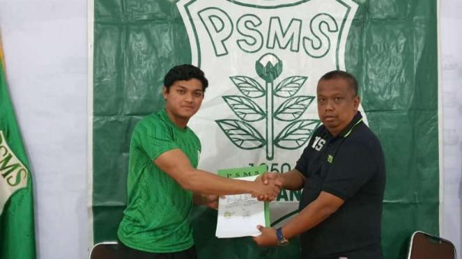 Kiper PSMS Medan, Muhammad Adi Satrio.