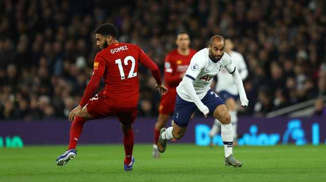 Pertandingan Tottenham Hotspur vs Liverpool