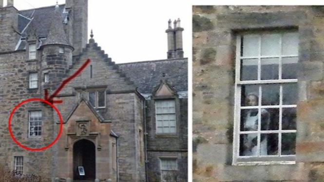 Hantu Kastil Skotlandia