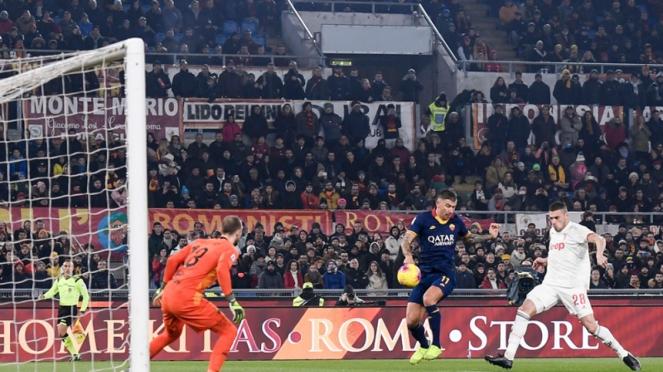 Pertandingan AS Roma vs Juventus