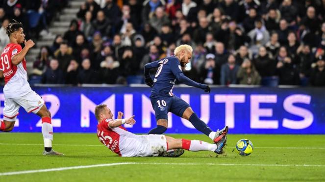 Pertandingan PSG vs AS Monaco